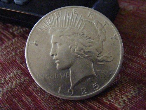 1925 P Peace Silver Dollar Coin
