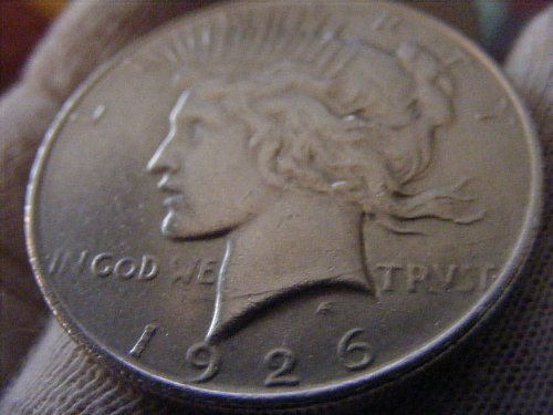 1926 D Peace Dollar Silver Coin