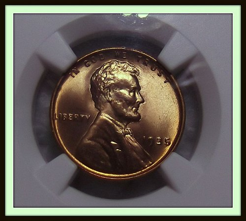1935 - P Lincoln Wheat Cent BU (NGC MS66 RD)