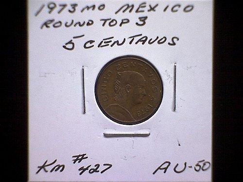 1973MO MEXICO FIVE CENTAVOS