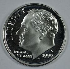 1999 S  SILVER PROOF ROOSEVELT DIME