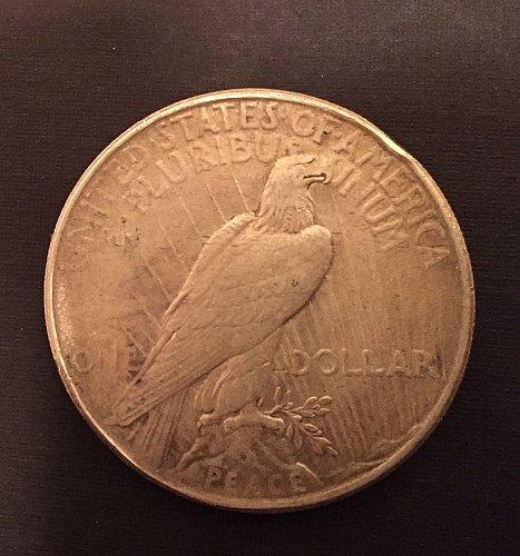 1924 Peace Dollar - inherited from my stepdad