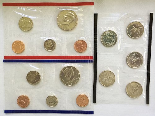 1999 PD Uncirculated Mint Sets - 13 Coins