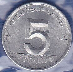 Germany / East 5 Pfennig 1948A