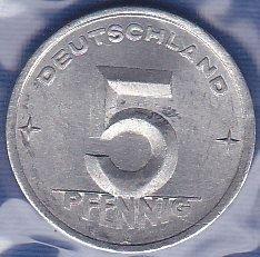 Germany / East 5 Pfennig 1948A