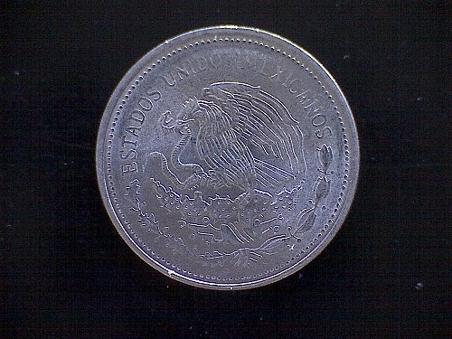 1986MO MEXICO ONE PESO