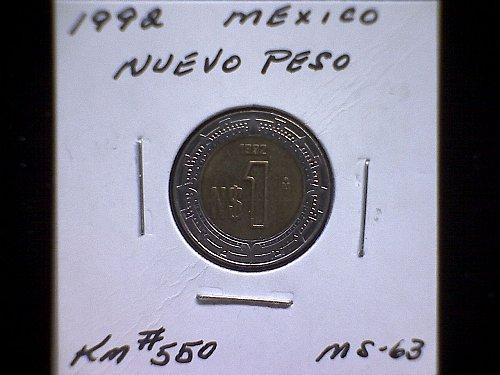 1992MO MEXICO NUEVO PESO