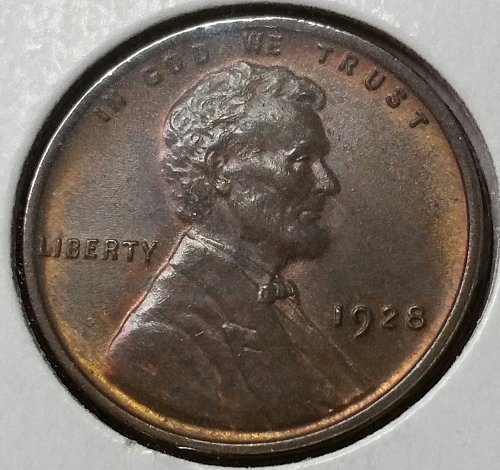 1928 Lincoln Wheat Cent - MS 66 B