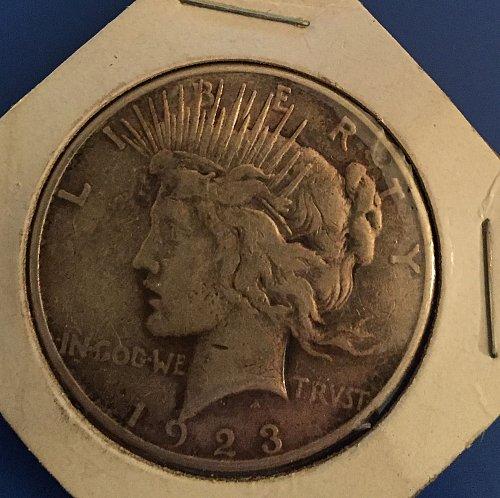1923 Peace Dollar - from an inheritence