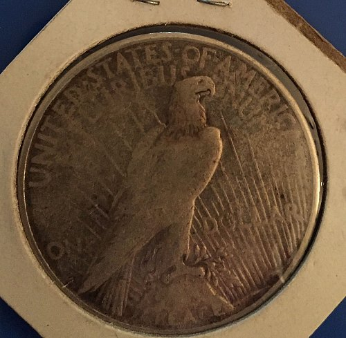 1923 Peace Dollar - from an inheritence