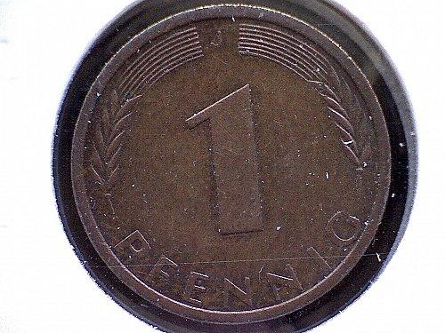 1976J GERMAN ONE PFENNIG