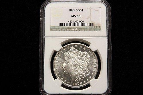 1879 - S San Francisco Morgan Dollar