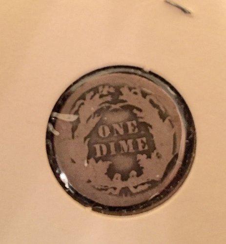 1891 Seated Liberty Dime