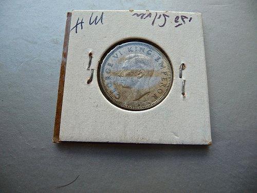 1943 New Zealand  6 pence