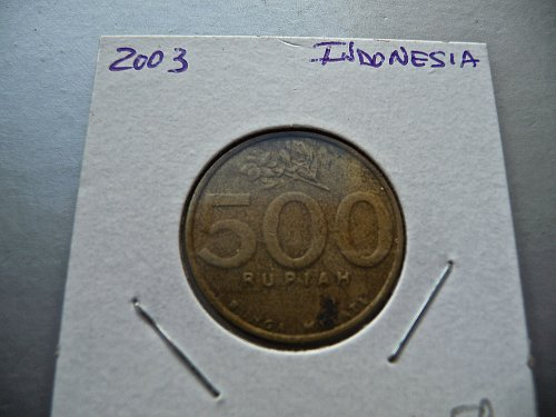 2003 indonesia   500 rupiah