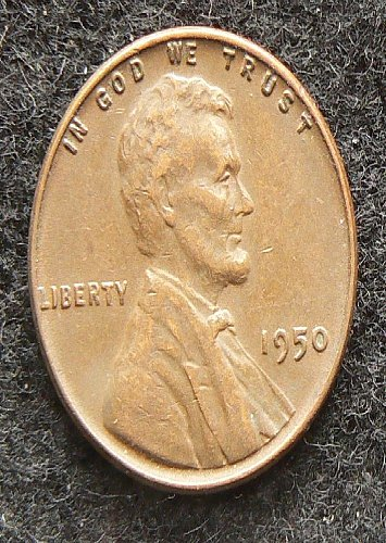1950 P Lincoln Cent (VF-30)