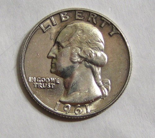 1961-D Washington Quarter - Uncirculated