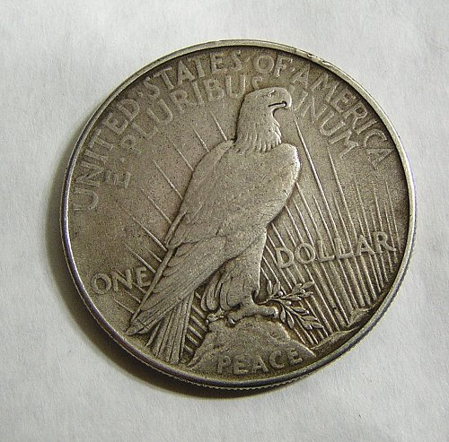 1934 Peace Dollar - XF