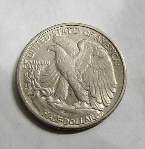 1941 Walking Liberty Half Dollar - AU