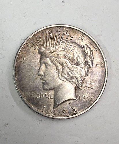 1922 Peace Dollar - great shape