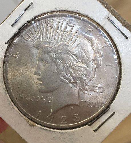 1923 Peace Dollar - great shape