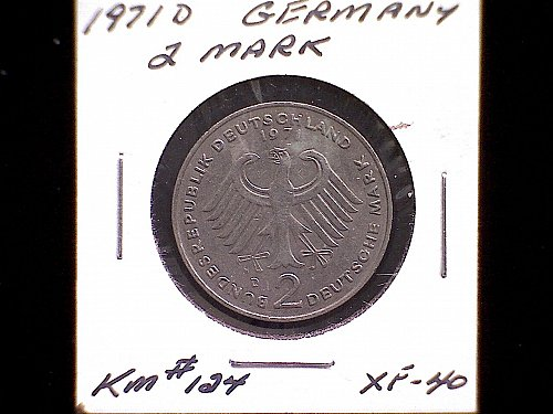1971D GERMANY TWO MARK