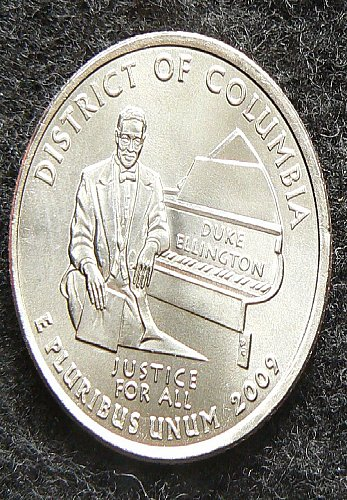 2009 P District of Columbia Territorial Quarter