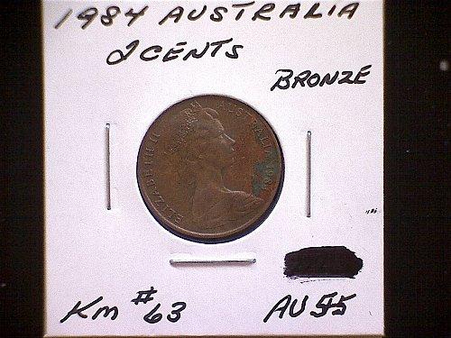 1984 AUSTRALIA TWO CENT