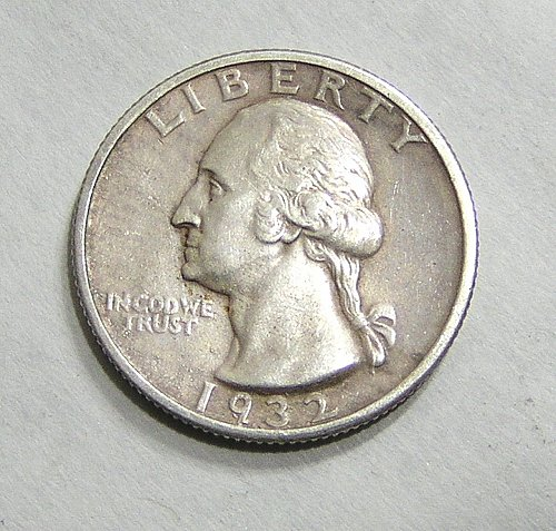1932-S Washington Quarter - Key Date!  XF