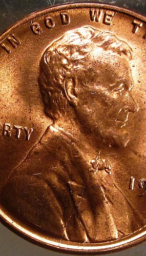 1950 Lincoln Cent Small Cents – Nice Penny – Die Cracks Obverse