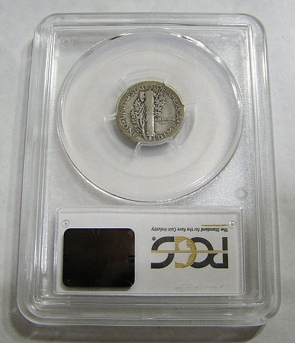 1921 Mercury Dime - Graded VG10 by PCGS!