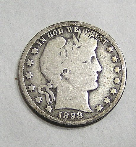 1898-O Barber Half Dollar - Good Condition