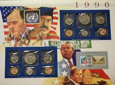 1990 postal set