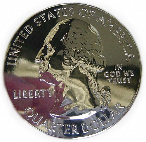 America The Beautiful Shenandoah 5 ounce Silver Gilded 24kt - Proof Like Deep Mi