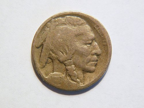 1916-S Buffalo Nickel.