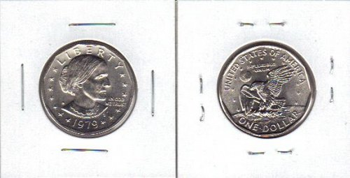 2- dollars 1979s and 1981s susan b