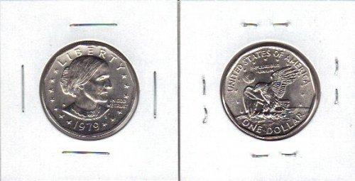2- dollars 1979s and 1981s susan b