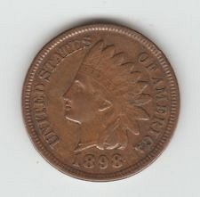 3-indian pennys 1884,1897,1898 all fine