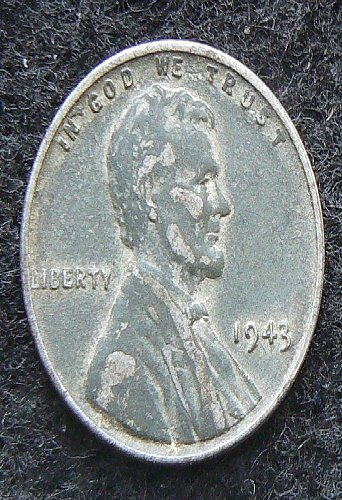 1943 P Lincoln Wheat Cent (VF-20)