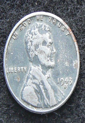 1943 D Lincoln Wheat Cent (VF-35)