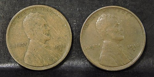 1912s penny (you are bidding on the 1912s only)
