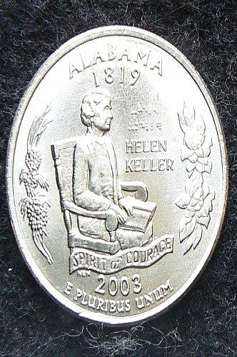 2003 D Alabama State Quarter