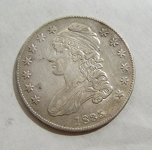 1835 Capped Bust Half Dollar - XF Condition!