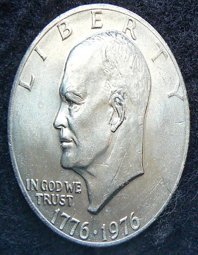 1976 P T2 Eisenhower Dollar