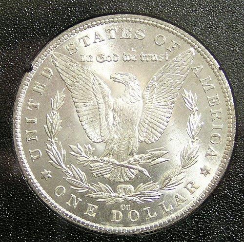 1882 CC Morgan Dollar - GSA Hoard BU
