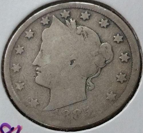 1885 Liberty Nickel ~ Good