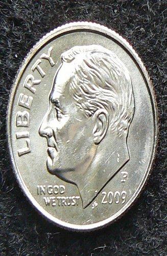 2009 P Roosevelt Dime