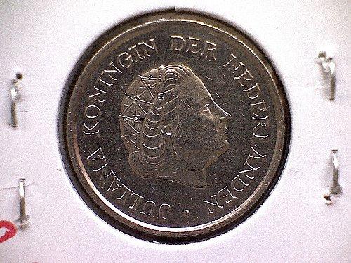 1980 NETHERLANDS TWENTY-FIVE CENTS