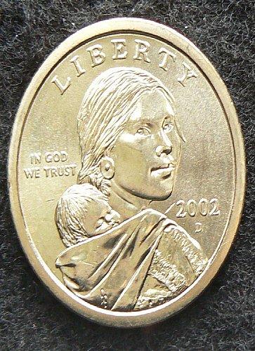 2002 D Sacagawea Dollar
