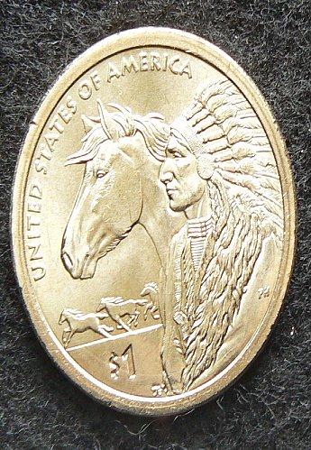 2012 P Sacagawea/Native American Trade Routs Dollar